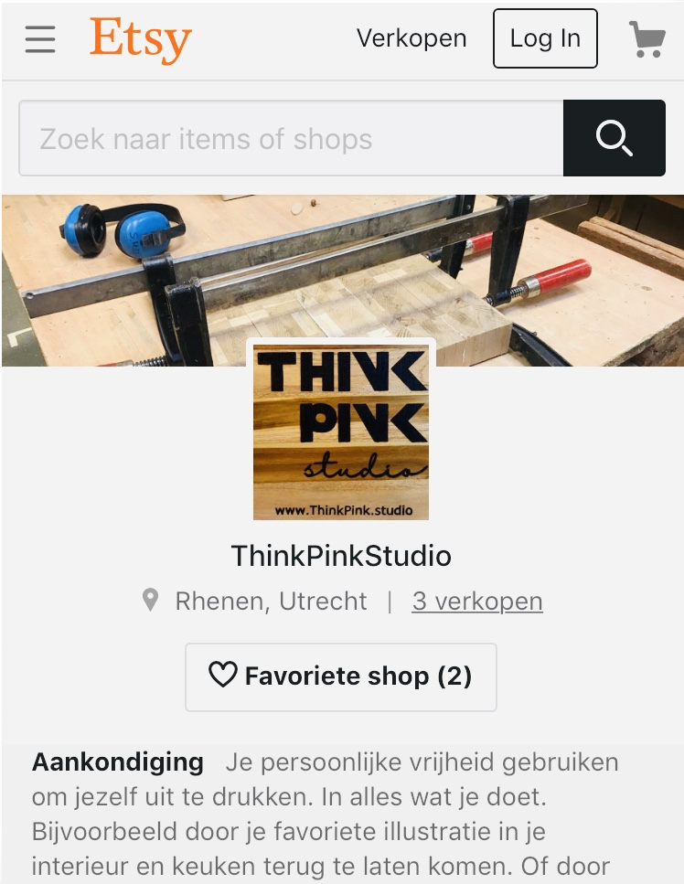 Shop for a Think Pink Studio article in our shop or contact us for custom made items.